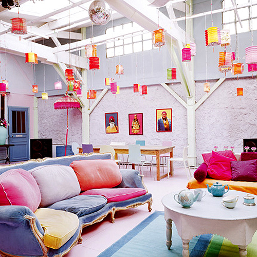 colorful interior design ideas. Inspirations  Brighten up your life with colourful interior designs